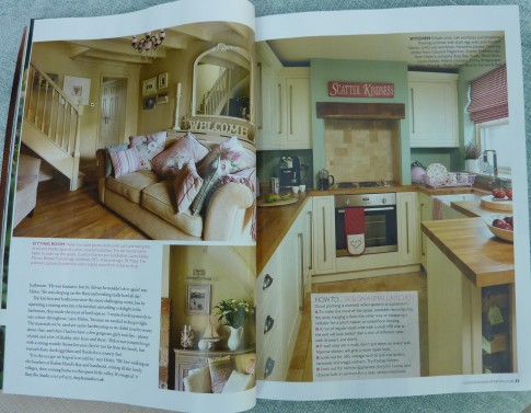 Lavender Cottage In Country Homes And Interiors Magazine